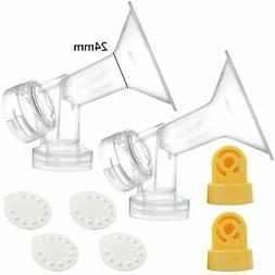 Nenesupply Compatible Pump Parts for Medela Breastpumps Medi