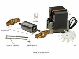 pump replacement parts motor service kit 120v