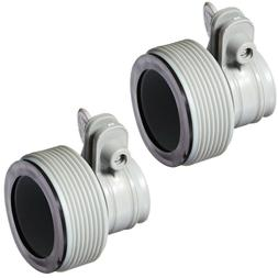 replacement hose adapter 2 set pool filter