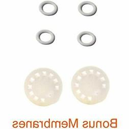 Replacement Parts For Medela Harmony Manual Pump 4 O-rings,