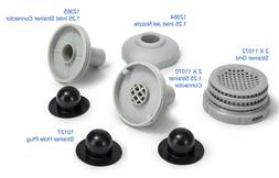 small pool strainer connector set 2 inlets