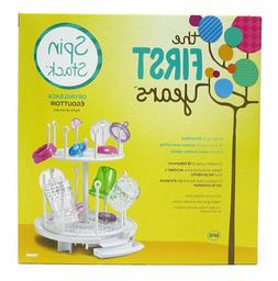 The First Years Spin Stack Drying Rack baby 16 Toddler bottl