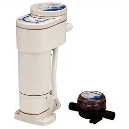 Jabsco 12V Toilet Conversion  Kit     Manual To Electric