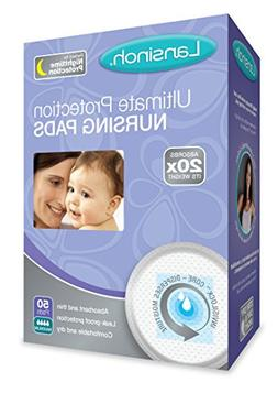 Lansinoh Ultimate Protection Nursing Pads, 50 Count, Day or