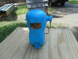used shallow well tank and pump housing