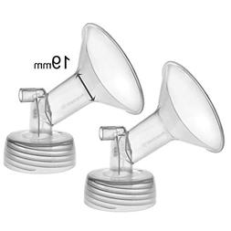 Maymom Wide Neck Pump Parts for Spectra S1/S2 Pumps; Incl Wi